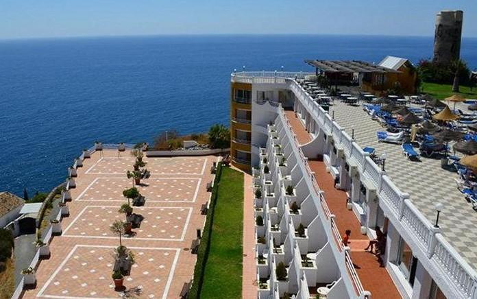 Hotel Best Western - Terraza